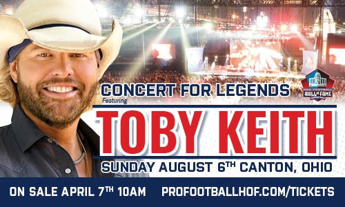Toby Keith August 6th
