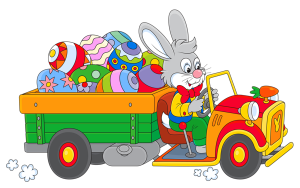 Easter_Bunny_with_Egg_Truck_PNG_Clipart