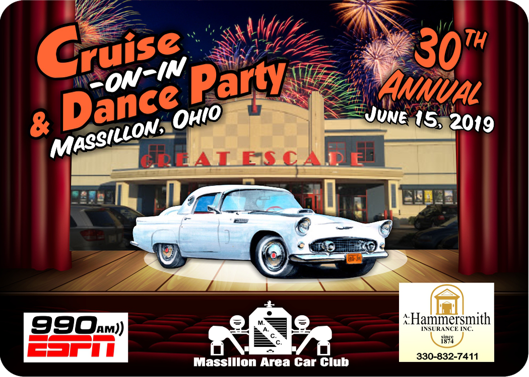 30th Annual Massillon Cruise-On-In and Dance Party   What's Up Ohio!
